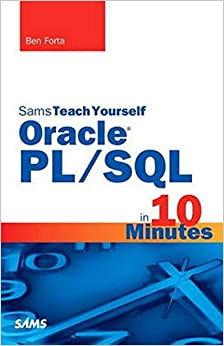 Sams Teach Yourself Oracle PL/SQL in 10 Minutes Forta, Ben 0752063328668