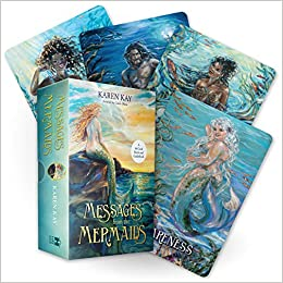 Messages from the Mermaids A 44-Card Deck and Guid Kay, Karen, Olsen, Linda 9781788173414