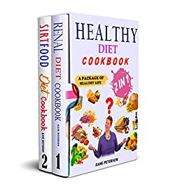 Healthy Diet Cook 2  in 1 A Package of Healthy Life -  edition by Peterson, Kane. Health, Fitness & Dieting   @ .