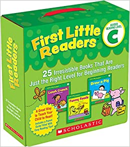 First Little Readers Parent Pack Guided Reading Level C 25 Irresistible  That Are Just the Right Level for Beginning Readers (8601401042150) Charlesworth, Liza
