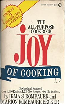 Joy of Cooking by Irma S. Rombauer (--)