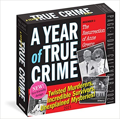 A Year of True Crime Page A Day Calendar Workman Calendars