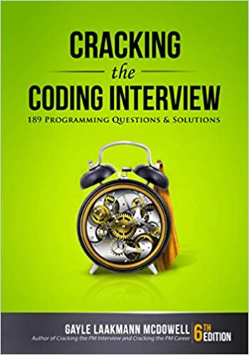 Cracking the Coding Interview Programming Questions and Solutions McDowell Gayle Laakmann