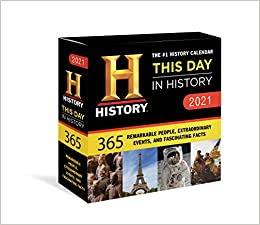 History Channel This Day in History Boxed Calendar Remarkable People Extraordinary Events and Fascinating Facts History Channel