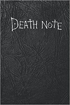 Death Note Not Blank Great Not For School or as a Diary Unlined Death Note Not With How To Use Rules Anime Cosplay Lover Anime Pages Soft Black Leather Cover Design Pen s Zeus