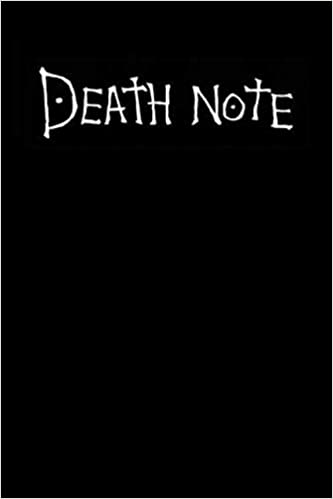 Death Note With How to Use Rules Inspired From The Death Note Anime With Perfectly Organized Pages Zoldyckk Alluka