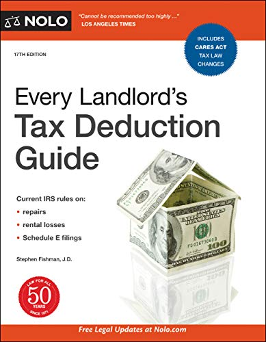 Every Landlord s Tax Deduction Guide Fishman Stephen Professional Technical