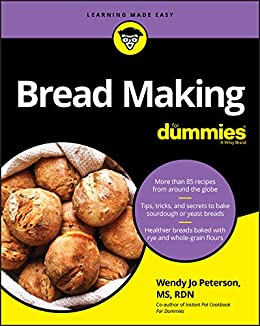 Bread Making For Dummies Peterson Wendy Jo Cook Food Wine